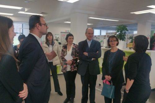 Ambasador Francuske u poseti NTP Beograd 2