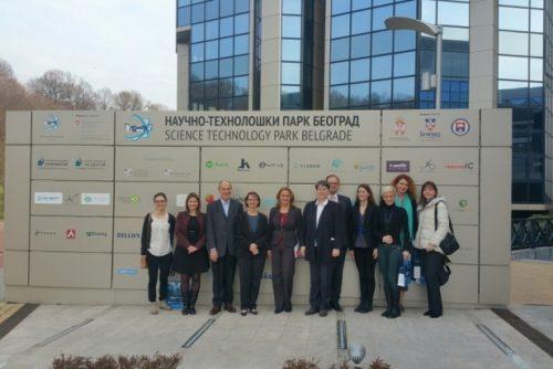Ambasador Francuske u poseti NTP Beograd 3