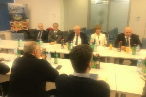 Delegacije ERC-a i COST-a u poseti NTP Beograd 1