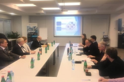 Delegacije ERC-a i COST-a u poseti NTP Beograd 3