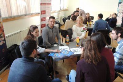 Karijerno ćaskanje sa studentima na Mašinskom fakultetu 2