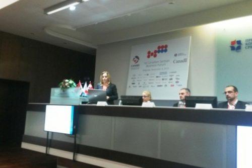NTP Beograd na prvom kanadsko-srpskom poslovnom forumu 1