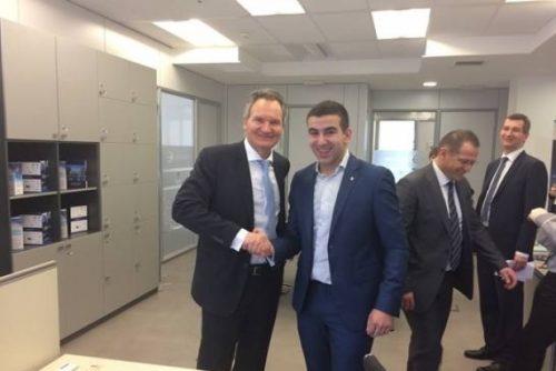 Посета Роберт Јан Смитса НТП Београд