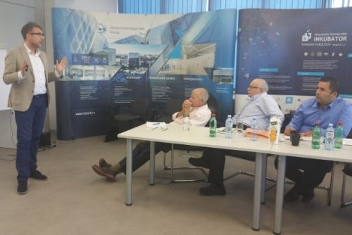 Presentation of companies to investors from Israel 3