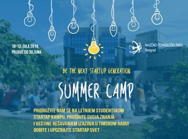 Letnji studentski startap kamp
