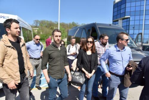 Projekat CODE, studijska poseta NTP-u Beograd 1