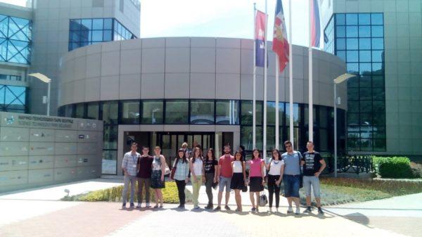 Studenti Farmaceutskog fakulteta posetili NTP Beograd