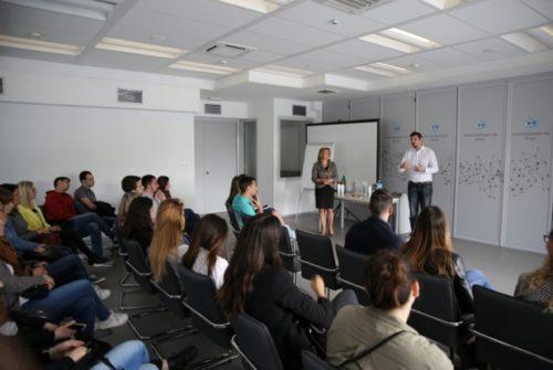 Studenti FON-a u poseti NTP Beograd 3