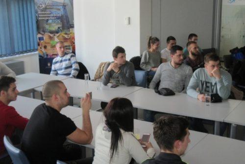 Studenti iz Kosovske Mitrovice u poseti NTP Beograd 2
