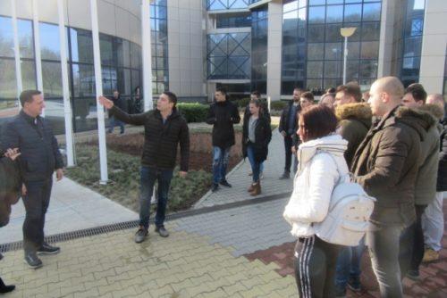Studenti iz Kosovske Mitrovice u poseti NTP Beograd 3