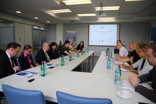 Председник Немачке националне академије наука Леополдина посетио Научно-технолошки парк Београд