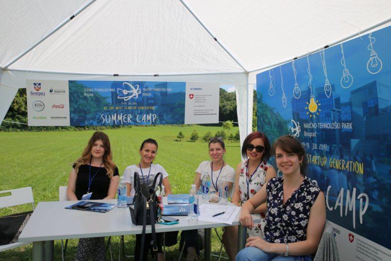 Uspešno završen prvi Letnji studentski startap kamp 2018