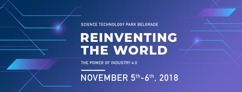 Produžen popust za rane prijave na konferenciju Reinventing the World – The Power of Industry 4.0 do 5. oktobra!
