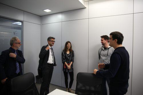 Generalni direktor Zajedničkog istraživačkog centra Evropske komisije posetio Naučno-tehnološki park Beograd 4