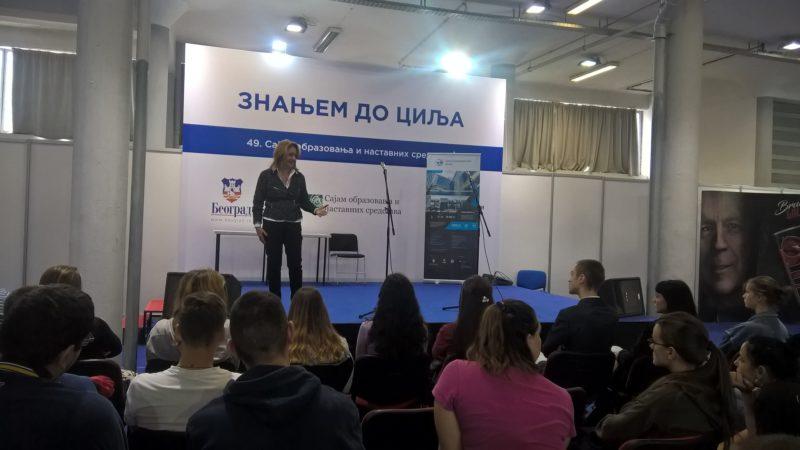 NTP Beograd izlagao u okviru programa Znanjem do cilja na Sajmu knjiga