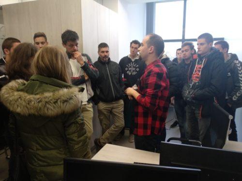 IT studenti iz Aranđelovca posetili NTP Beograd 1
