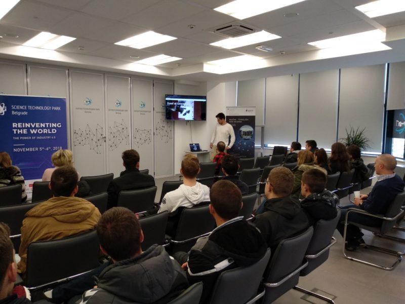 IT studenti iz Aranđelovca posetili NTP Beograd