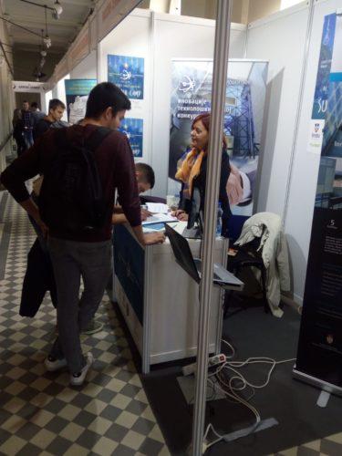 NTP Beograd učestvovao na Sajmu poslova JobFair 18 2