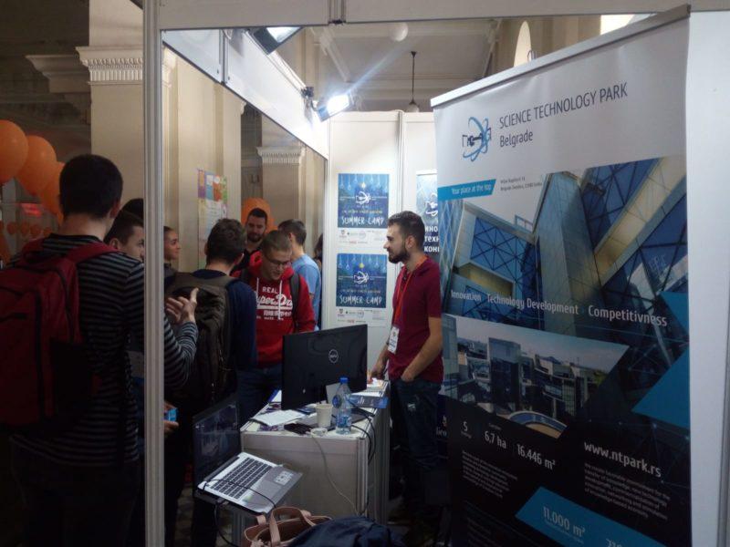 NTP Beograd učestvovao na Sajmu poslova JobFair 18