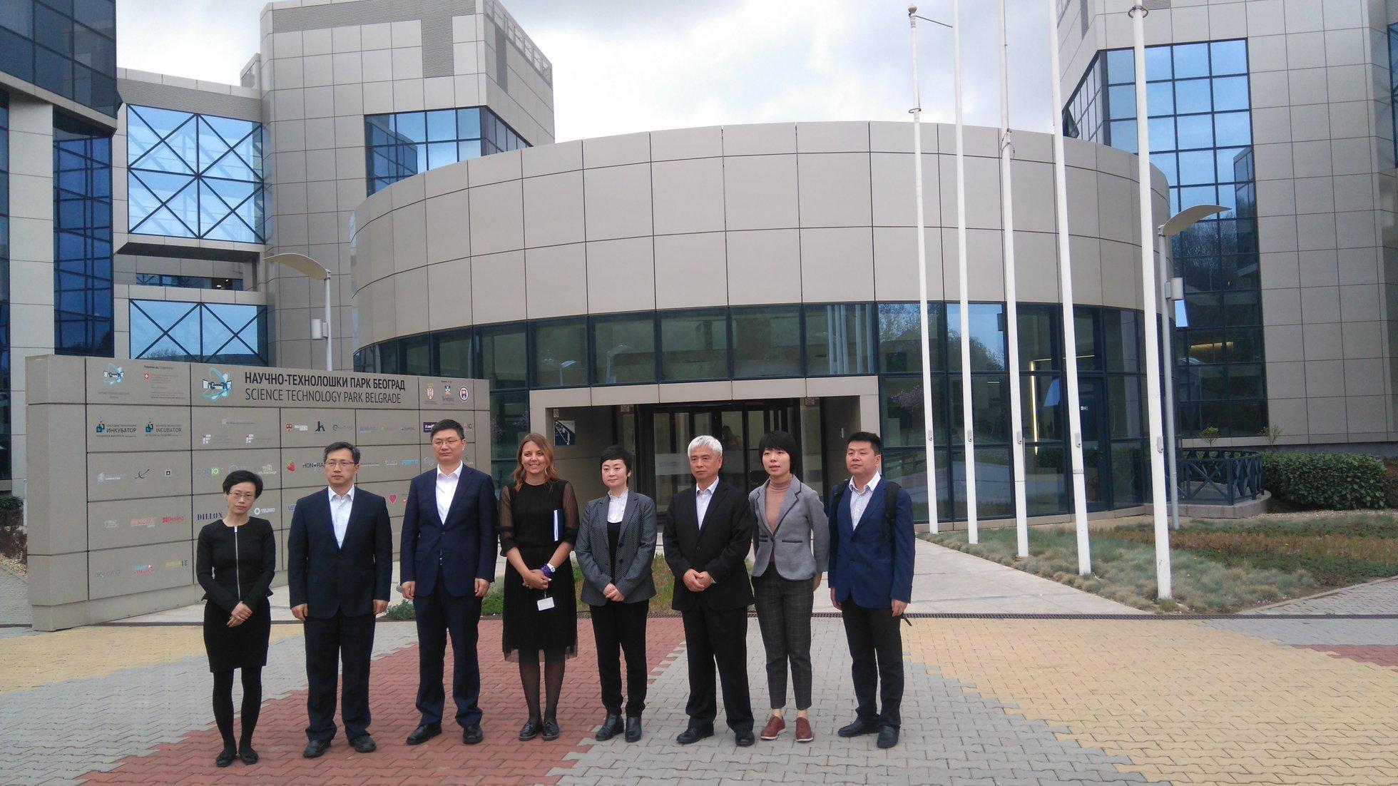Delegacija šangajske kancelarije za ubrzani razvoj nauke i inovacionog centara u poseti NTP Beograd