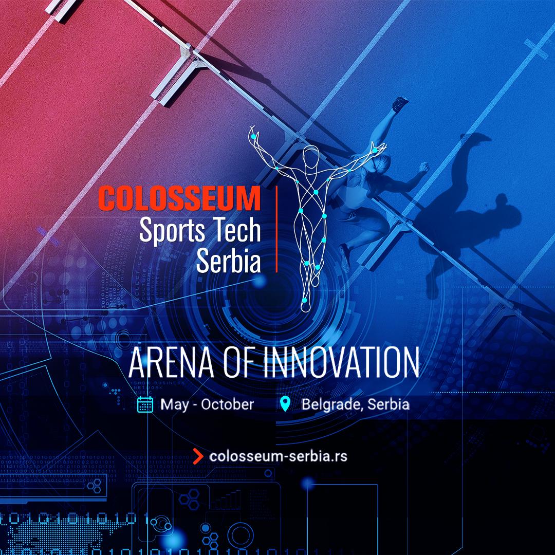 Otvorene prijave za startap program Colosseum Sports Tech Serbia!