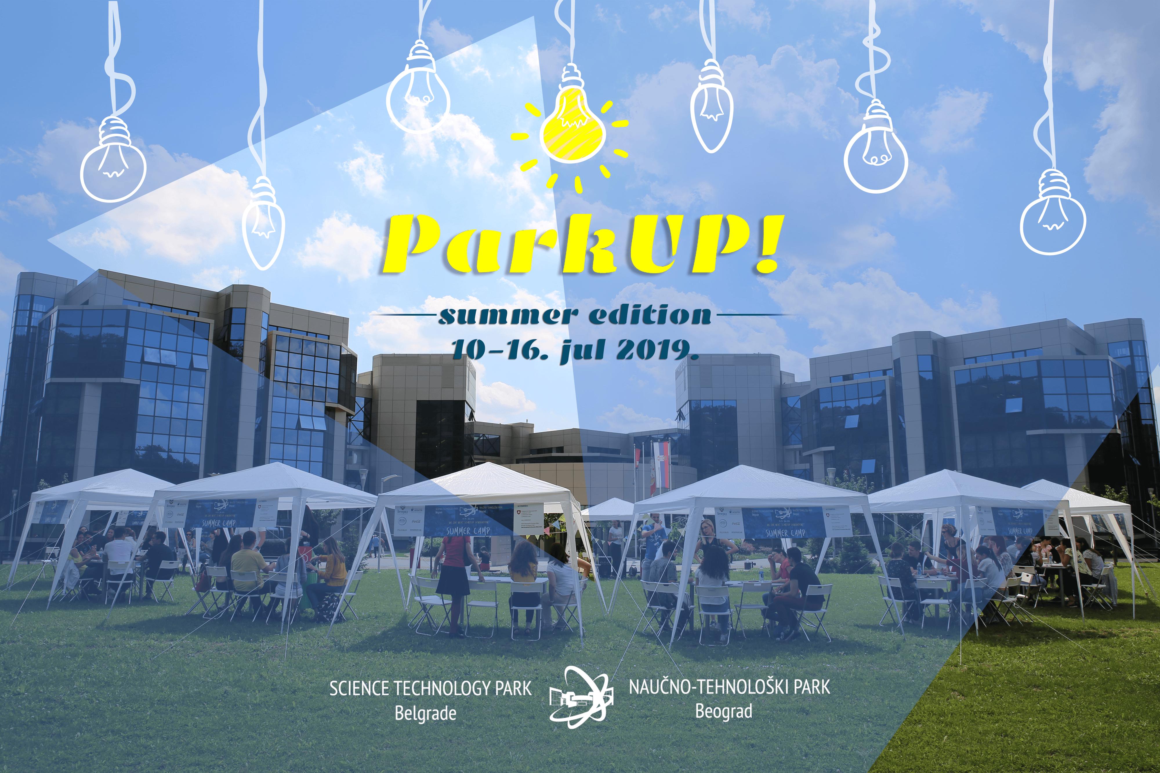 Otvorene prijave za letnji studentski kamp ParkUP! 2019