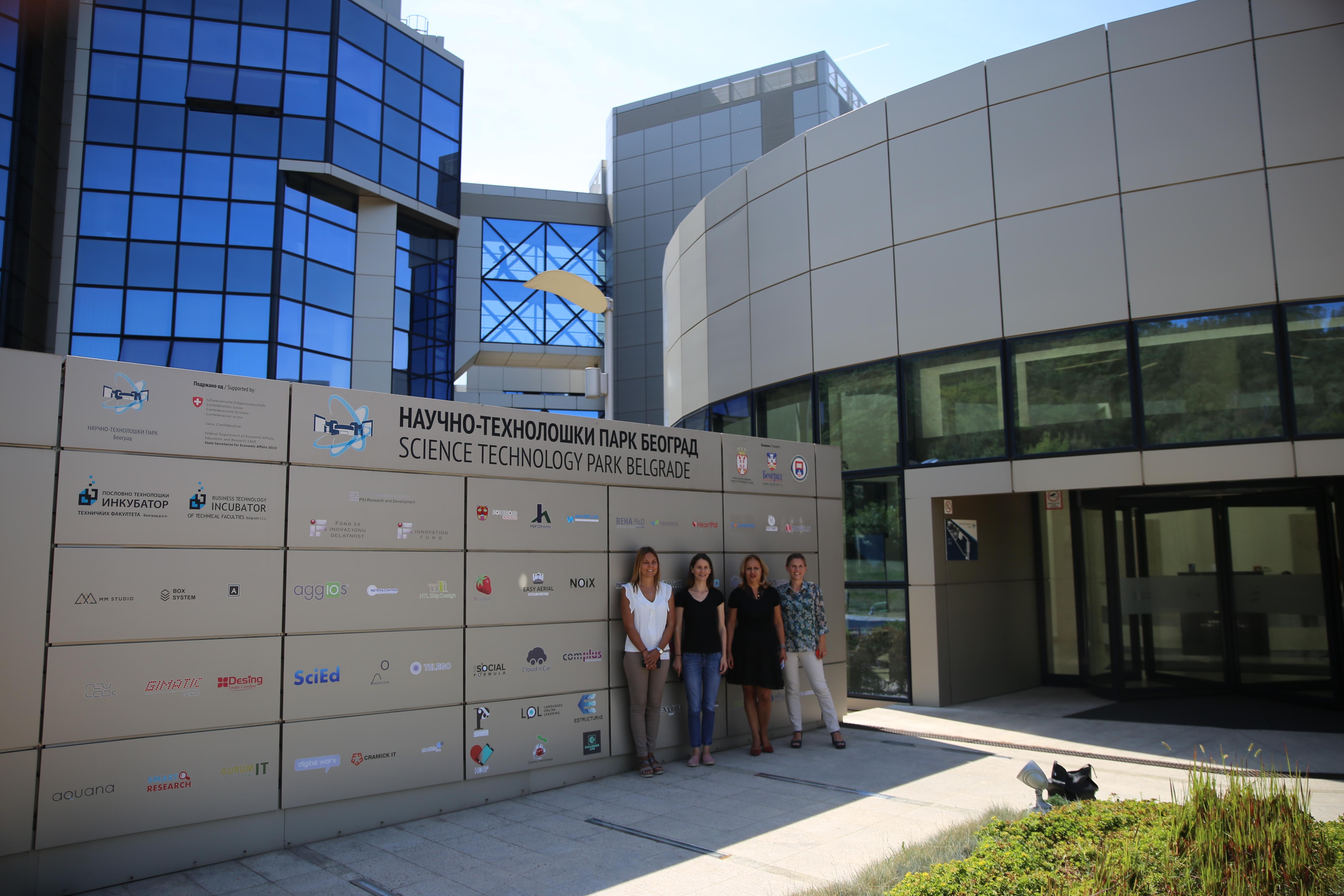 Представница Међународне асоцијације научних паркова и иновационих области у посети НТП Београд