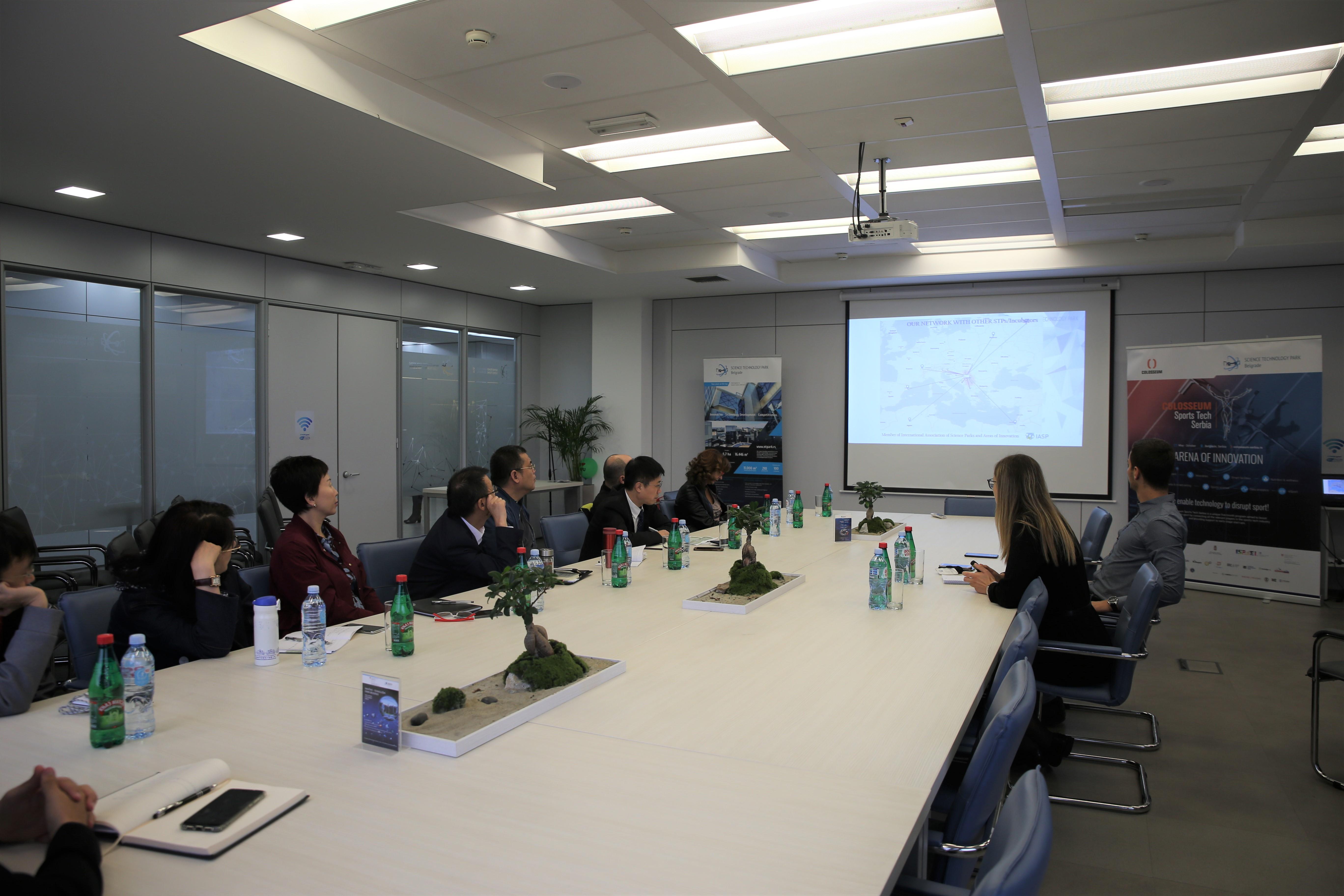 Delegacija kineskog Instituta za ekonomiku poljoprivrede i razvoj u poseti NTP Beograd