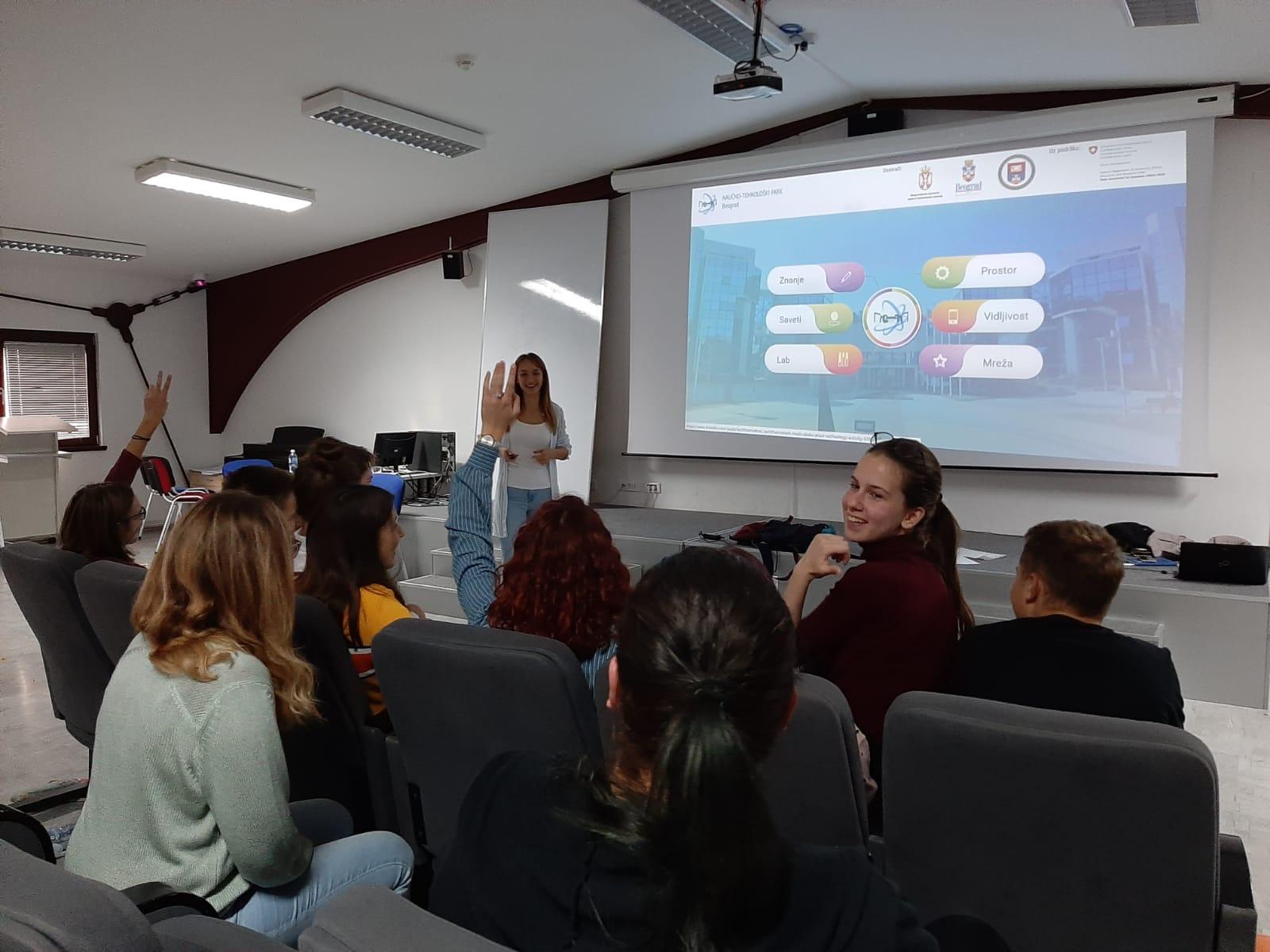 Kako nastaju ideje koje menjaju svet – Radionica NTP Beograd sa mladim istraživačima u Petnici