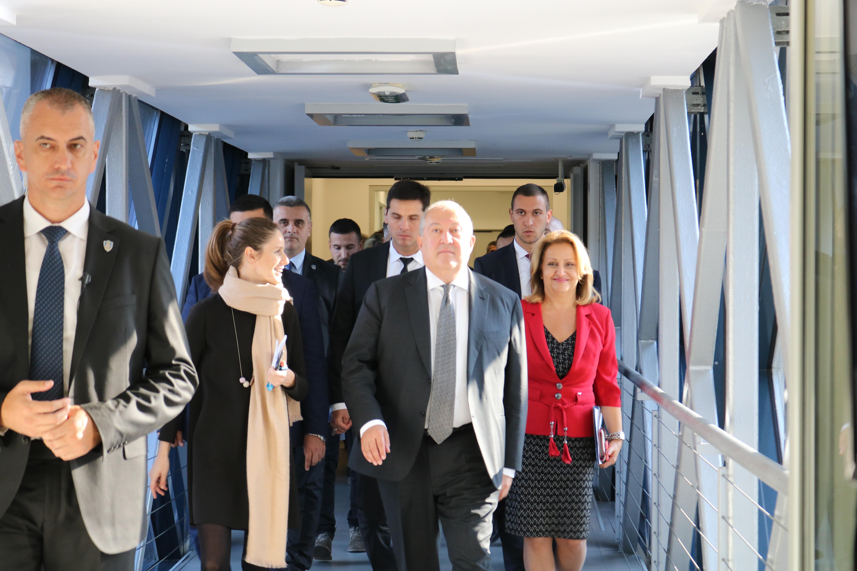 Predsednik Republike Jermenije obišao Naučno-tehnološki park Beograd – Predstavljena inovativna rešenja kompanija članica i model za unapređenje inovacionih eko sistema