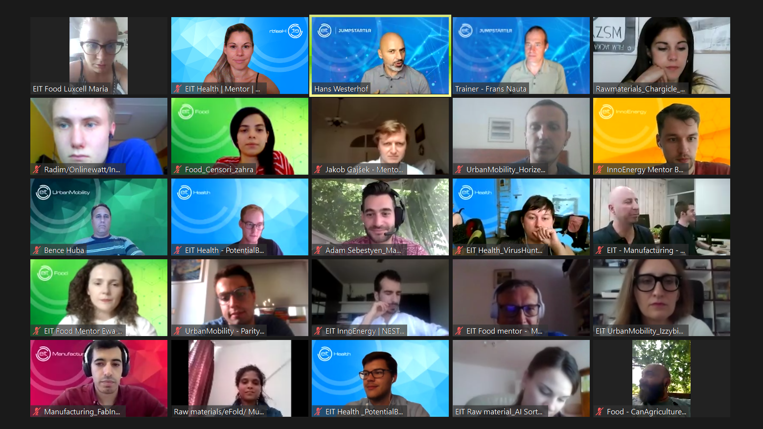 (EIT Jumpstartster bootcamp 2020)