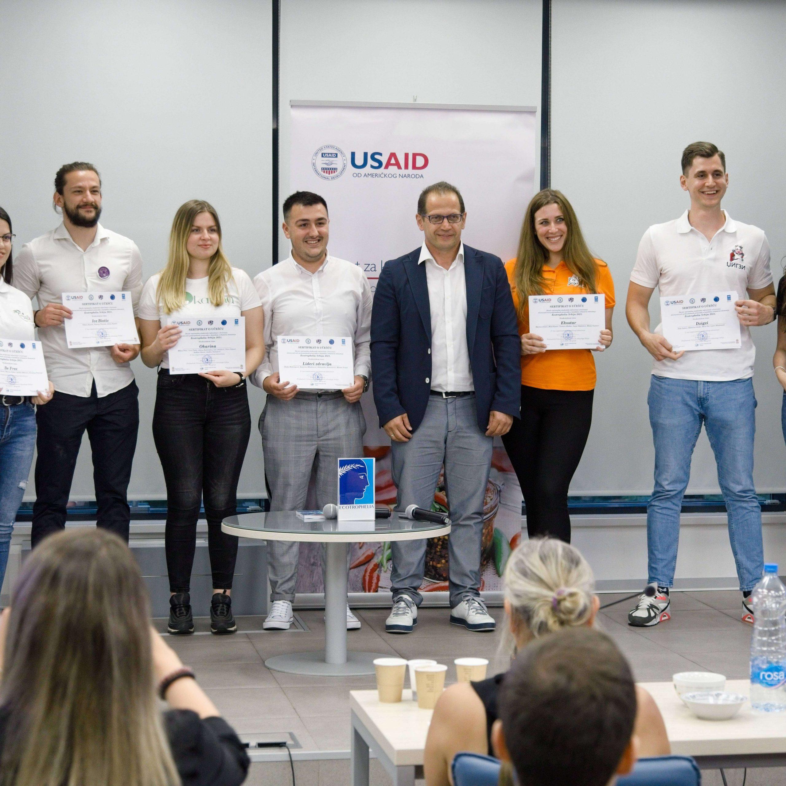 IceBiotic победник 9. студентског такмичења за наиновативнији прехрамбени производ –  У НТП Београд одржана Ecotrophelia Србија 2021
