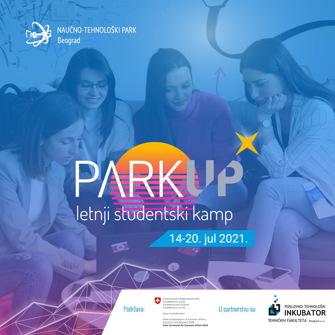 Отворене пријаве за летњи студентски стартап камп ParkUP! 2021