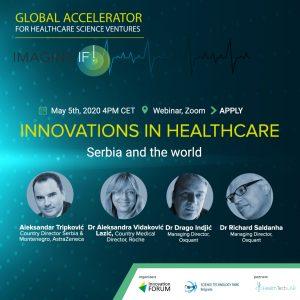 Innovations in Healthcare: Serbia and the world – Besplatan ZOOM webinar o inovacijama u zdravstvu 5. maja