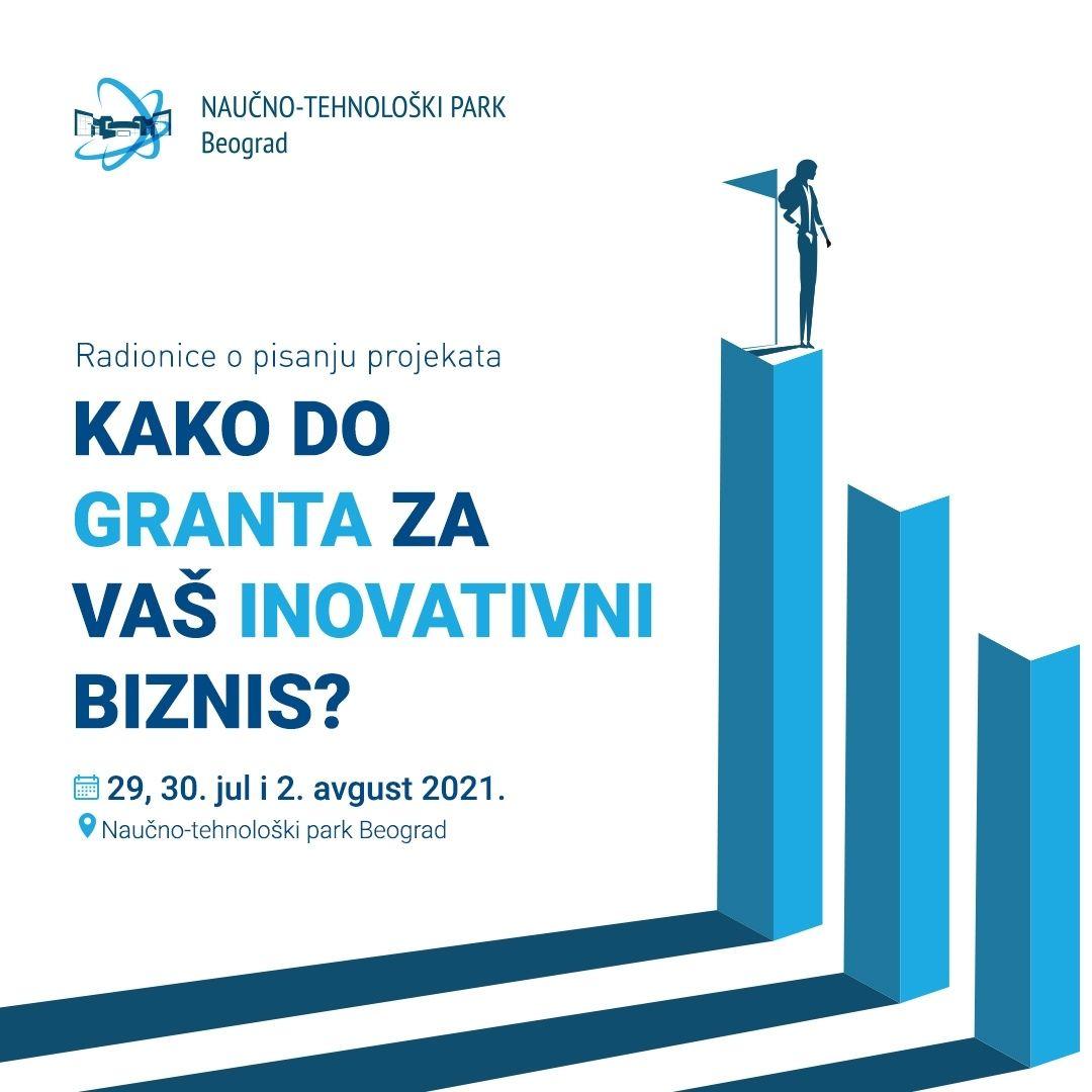 Радионице припреме иновационих пројеката за финансирање са Браниславом Анђелићем 29, 30. јула и 2. августа у НТП Београд